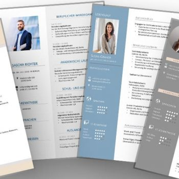 The 5 most important resume design tips to enhance the resume for the application. Examples with a checklist show how a modernly selected CV design makes the CV a real eye-catcher.